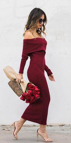 Winter Wedding Guest Dresses: 15 Best Looks ★ See more: https://weddingdressesguide.com/winter-wedding-guest-dresses/ #bridalgown #weddingdress