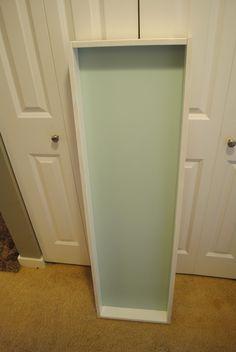 DIY: full length mirror/jewelry box