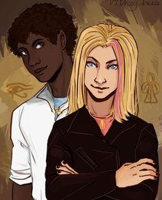 Carter and Sadie Kane