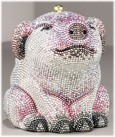 Judith Leiber Pink Pig Minaudiere