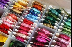 """Dollar Store Crafts » Blog Archive » Make Your Own """"Waxed Linen"""" Thread"""