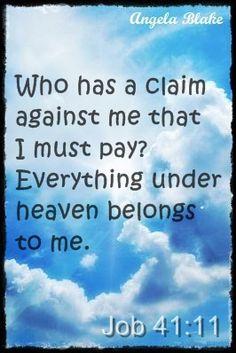 Heaven belongs to Him <3