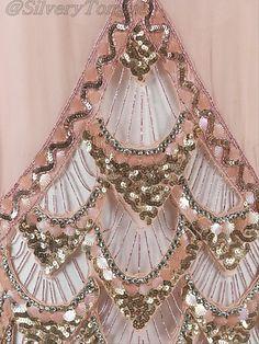 Detail  Evening dress, 1925 France, the Met Museum.
