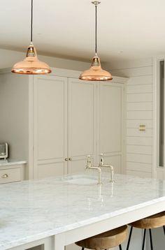 marble island | devol kitchens