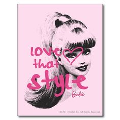 Barbie Love That Style 1 Post Cards