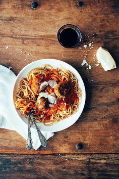 Rustic pasta steeze.