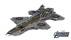 This 22,000 Piece LEGO Helicarrier Means Business