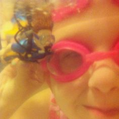 swimming with Scuba Steve #lifeproof