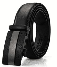 Luxury Fashion Automatic Buckle Belt Real Leather Strap For Men Jeans Gift Black Best Leather Belt, Leather Belts, Cowhide Leather, Real Leather, Leather Men, Men's Belts, Custom Leather, Work Belt, Branded Belts