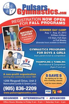 snapd Newmarket is a FREE monthly print publication and website specializing in a Summer Day Camp, Community Events, Gymnastics, Public, Parenting, Spring, Fitness, Physical Exercise, Calisthenics
