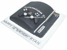 Playstation 3 Birthday Cake