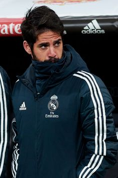 MADRID, SPAIN - JANUARY Isco Alarcon of Real Madrid looks on prior to the Copa del Rey Round of 16 match between Real Madrid and CD Leganes at Bernabeu on January 2019 in Madrid, Spain. (Photo by Quality Sport Images/Getty Images) Best Football Players, Soccer Players, Isco Real Madrid, Isco Alarcon, J Star, Club World Cup, Soccer Guys, Real Madrid Players, Sports Images