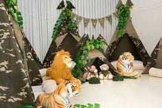 Festa Selva Em Casa minieventos