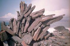 Unusual rock formation