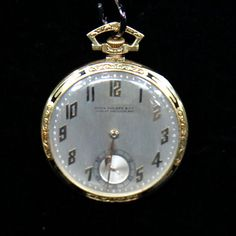 1928 Patek Philippe Enamel & Gold Pocket Watch —   Appraised Value:  $5,000