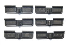 -Ejection port covers are engraved with colorful slogans to personalize your AR-15 in a unique way.   -The engraving is on the inside of the cover, so when its closed, your gun retains its stock appearance.   -These are top-quality, all-steel cover http://www.shadez-of-gray.com/weapons-parts-accessories/ar-15/upper-parts/ar-15-m-16-engraved-ejection-port-dust-cover/