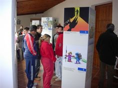 """2008-11-24 DD.HH. en Llerena. Exposición """"Otra lectura de los Derechos Humanos"""""""