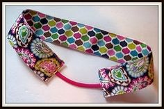 Easy Reversible Ribbon Headband