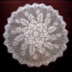 Ravelry: Tappetino Rotondo pattern by Herbert Niebling