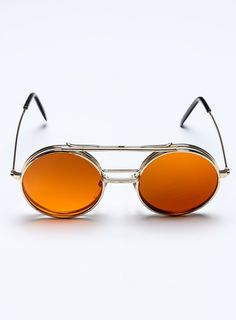 Steampunk Flip Up Shades / Replay Vintage