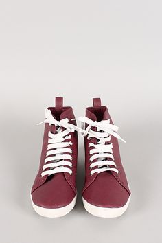 Slip into these cute sporty sneakers! Perf for fall and winter
