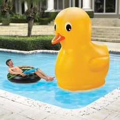 Prepare to be the talk of every pool party with this thing.