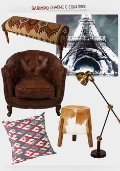 Charme e equilíbrio.  Veja: http://www.casadevalentina.com.br/blog/detalhes/charme-e-equilibrio-3156 #decor #decoracao #interior #design #casa #home #house #idea #ideia #detalhes #details #style #estilo #casadevalentina #produtos #products #online