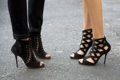 Milan Shoes, these criss-cross designs are bangin!