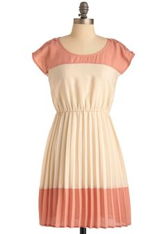 Dessert Date Dress. Just pair your signature conversation skills with a patent peep toe flat, cropped cocoa jacket, and a confection-inspired cocktail ring, and you'll be more darling than those miniature macchiato mugs