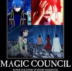 Fairy Tail~~ Stupid magic council