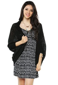 Essential Mesh Cardigan | Shop Cardigans at Papaya