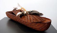 Rewi Spraggon Kura Gallery Maori Art Design New Zealand Aotearoa Carving Kauri Wakahuia Hawk Feathers Hawk Feathers, Maori Art, Indigenous Art, Ceramic Painting, Painting Inspiration, New Zealand, Carving, Ceramics, Contemporary