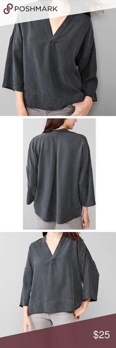 GAP Gray Loose Top Soft loose top from GAP. NWT. GAP Tops