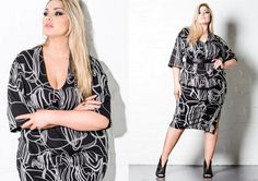 Harlow Lookbook AW 16.2 Page 4 Plus Size Fashion, Curves, Cover Up, Fall Winter, Beauty, Dresses, Women, Vestidos, Women's