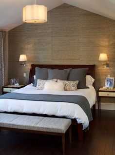 Bed Traditional Bedroom Master Bedrooms Room Guest Home
