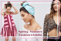 Check out my Spring Summer 2018 wishlist from three of my favourite brands; Asos, Missguided and Nasty Gal.  For me, this season is all about pastels, tie front tops, mustard and oversized denim shirts
