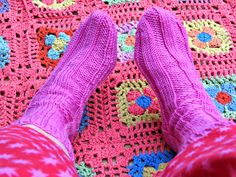 just saying ...: Spring into Summer Socks ...