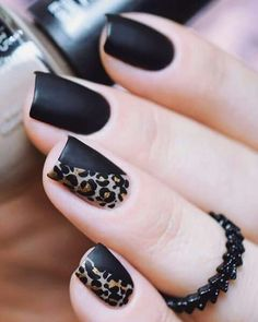 #leopardprint #leopardnails