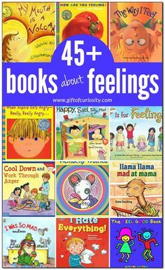 A Guide Fast to Teaching Your Child to Read - 45 books about feelings for kids Feelings Book, Feelings And Emotions, Expressing Feelings, Social Emotional Development, Social Emotional Learning, Toddler Development, Strand Yoga, Professor, Emotional Books