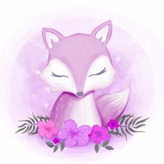 Baby Foxy Female Portrait Watercolor, Adorable, Animal, Art PNG and Vector with Transparent Backgrou Cartoon Wallpaper, Wallpaper Backgrounds, Cute Animal Drawings, Cute Drawings, Baby Shower Background, Happy Birthday Wallpaper, Happy Birthday Girls, Watercolor Portraits, Watercolor Background