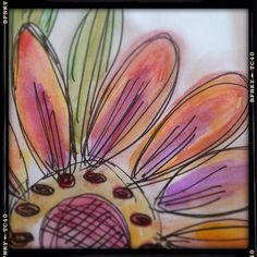Doodle Flower by Roben-Marie Smith, via Flickr