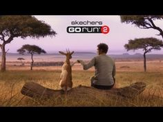 Skechers - GOrun 2 -- Man vs Cheetah Big Game Commercial