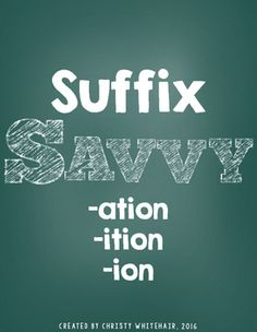 Activities to review the suffixes -ation, -ition, and -ion in a hands on and engaging way! Use with your ELA or RTI! 4th Grade Ela, Hands, Activities