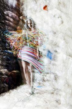Fashion & Architecture by Marnix Postma, via Behance