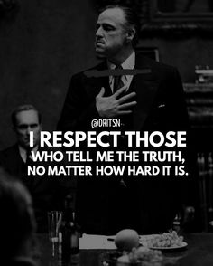 The truth always wins Need Motivation, Motivation Quotes, Motivational, Inspirational Quotes, The Godfather, True Words, Real Talk, Mafia, Success Quotes