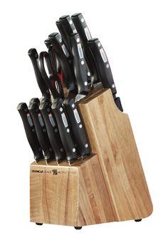 World Class 18 Piece Knife Block Set