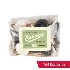 Chocolate escape pebbles, inspired by The Great Escape The Great Escape, Warfare, Inspired, Gifts, Presents, Favors, Gift