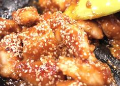 Waist Line Friendly Orange Sesame Chicken. Super tasty, healthy, wholesome. What's not to like? ;)