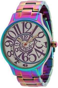 Betsey Johnson Watch.  Reminds me of Alice in Wonderland.