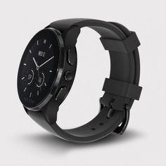 Vector Watch Luna - Siyah Çelik Kasa ve Silikon Kordon Akıllı Kol Saati